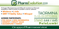 FIERA PHARMEVOLUTION 2019 TAORMINA