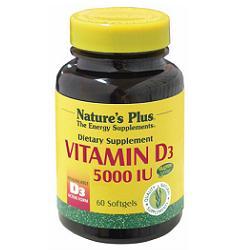 VITAMINA D3 5000 UI 60CPS