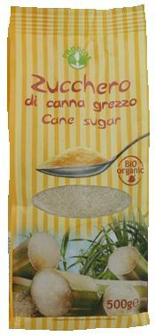 ZUCCHERO DI CANNA GREZZO 500 G