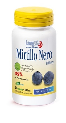 LONGLIFE MIRTILLO NERO 50CPS
