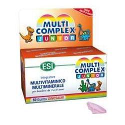 MULTICOMPLEX JUNIOR 50 DINOSAURI MASTICABILI