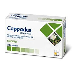 CAPPADES 30 COMPRESSE 0,62 G