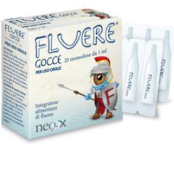 FLUERE GOCCE 20 FIALE MONODOSE 1 ML