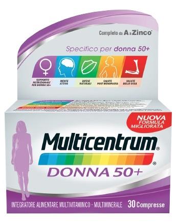 MULTICENTRUM DONNA 50+ 30CPR