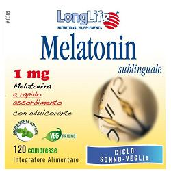 LONGLIFE MELATONIN 1 MG 120 COMPRESSE