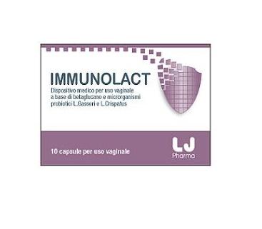 IMMUNOLACT 10CPS VAGINALI