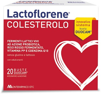 LACTOFLORENE COLESTEROL 20BUST