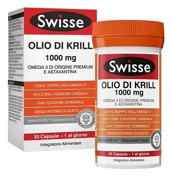 SWISSE OLIO KRILL 30CPS