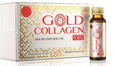 GOLD COLLAGEN FORTE 10 FLACONI