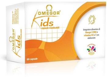 OMEGOR KIDS 60CPS MASTICABILI