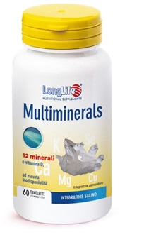 LONGLIFE MULTIMINERALS 60 TAVOLETTE