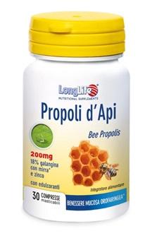 LONGLIFE PROPOLI D\'API 30 COMPRESSE