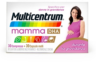 MULTICENTRUM MAMMA DHA 30+30
