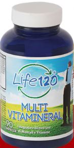 LIFE 120 MULTIVITAMINERAL 45 COMPRESSE