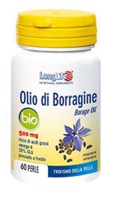 LONGLIFE OLIO BORRAG BIO 60PRL