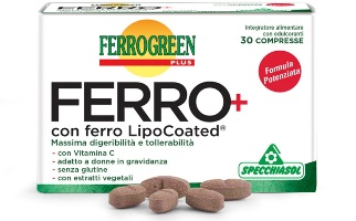 FERROGREEN PLUS FERRO+ 30 COMPRESSE