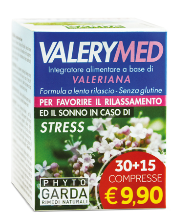 VALERYMED RILASCIO PROLUNGATO 30 + 15 COMPRESSE
