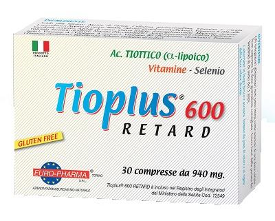 TIOPLUS 600 RETARD 30 COMPRESSE