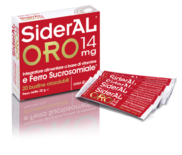 SIDERAL ORO 14MG 20BUST