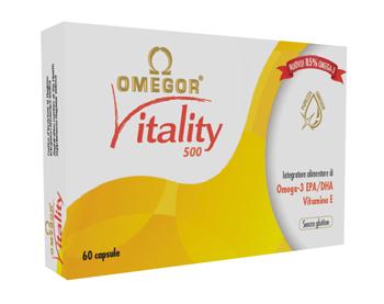 OMEGOR VITALITY 500 60 CAPSULE