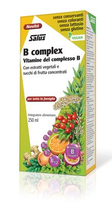 B COMPLEX SALUS 250 ML