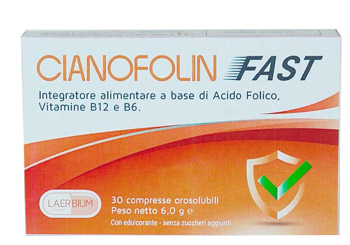 CIANOFOLIN FAST 30 COMPRESSE OROSOLUBILI