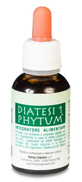 PHYTUM DIATESI 1 GOCCE 30 ML