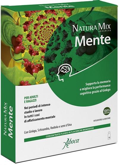NATURA MIX ADVANCED MENTE 10 FLACONCINI 150 G