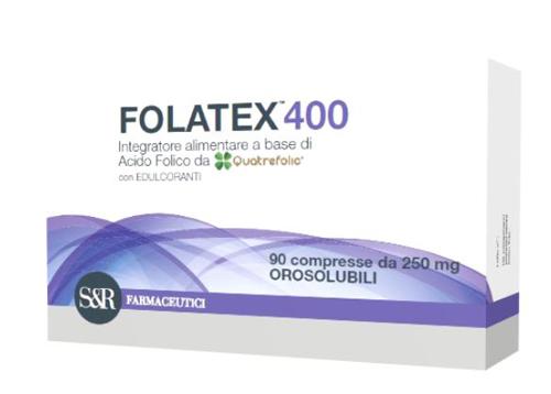 FOLATEX 400 90 COMPRESSE