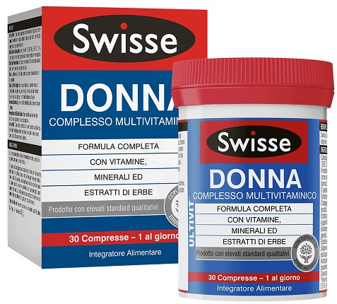 SWISSE MULTIVITAMINICO DONNA 30 COMPRESSE