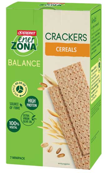 ENERZONA CRACKERS CEREALS 25 G