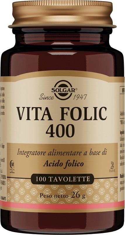 VITA FOLIC 400 100 TAVOLETTE